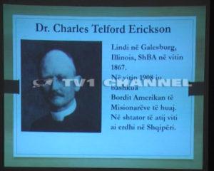 """Charles Telford Ericson dhe Shqiperia"""