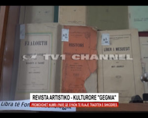 """Revista artistiko – kulturore """"Gegnia"""""""