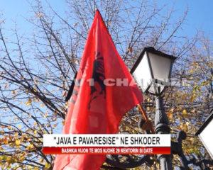 """""""Java e pavaresise"""" ne Shkoder"""