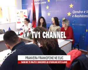 Pranvera frankofone ne EUIC