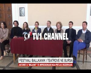 Festivali Ballkanik i teatrove ne Bursa