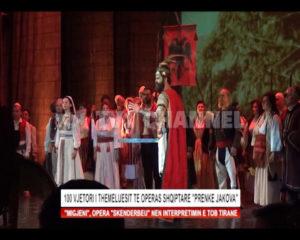 "100 vjetori i themeluesit te operas Shqiptare "" Prenke Jakova """
