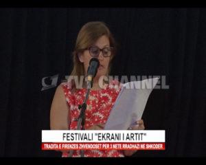 """Festivali """"Ekrani i Artit"""". Tradita e Firenzes zhvendoset per 3 nete radhazi ne Shkoder."""