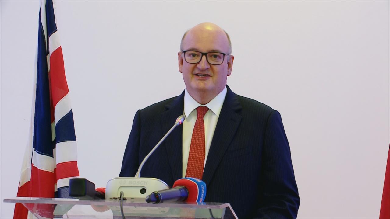 Image result for ambasadori britanik ne Tirane
